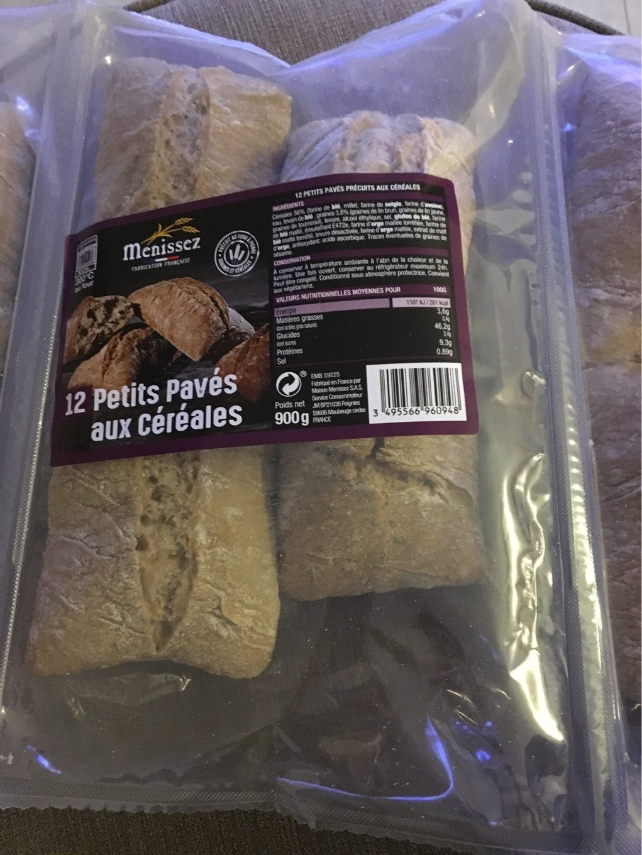 12 petits pavés aux céréales - Product - fr