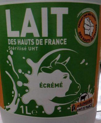 Lait écrémé des hauts de France - Product - fr