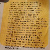 Sandwich Poulet Halal - Ingrediënten - fr