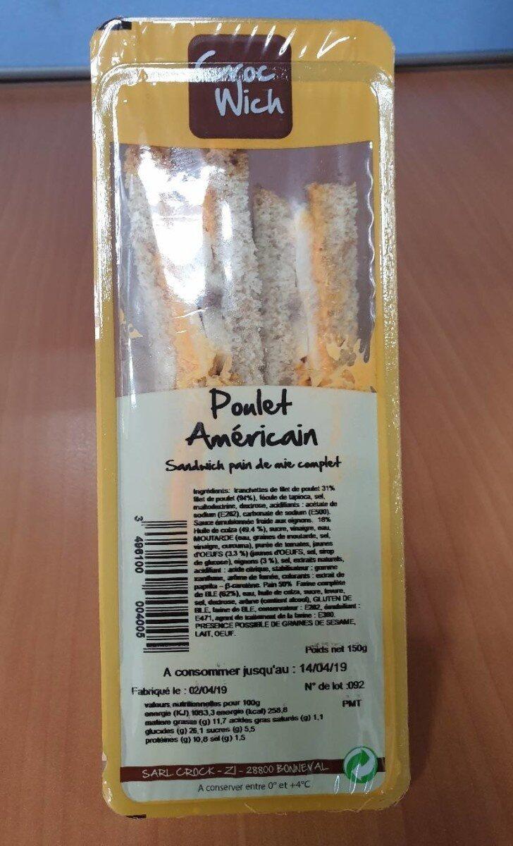 Sandwich Poulet Américain - Product - fr