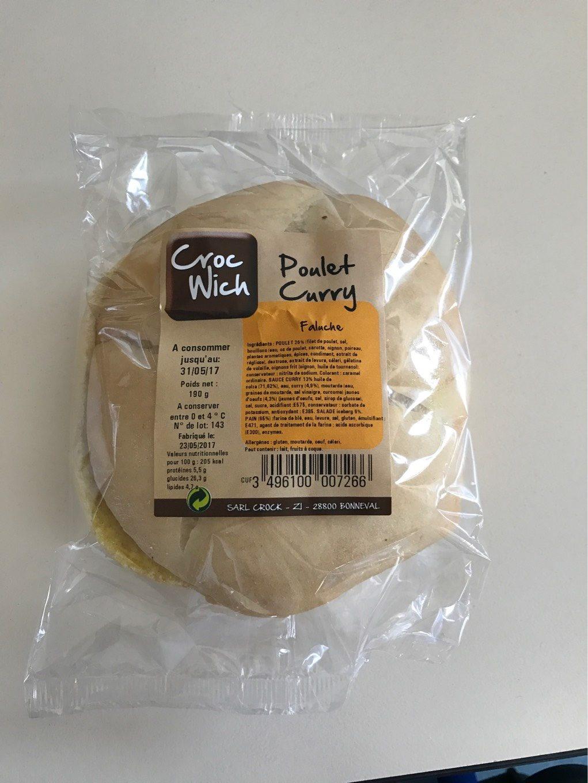 Sandwich curry - Produit