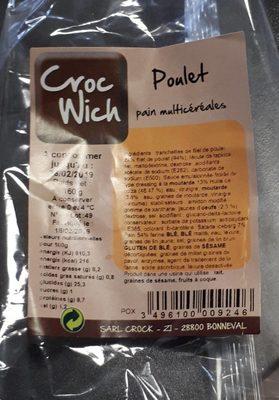 Sandwich Poulet - Prodotto - fr
