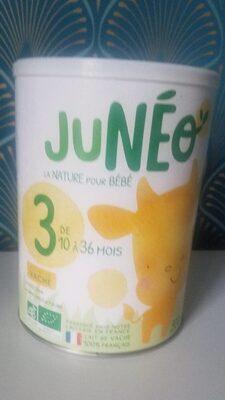 Juneo lait 3eme age - Product - fr