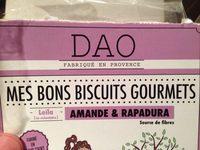 Mes Bons Biscuits Gourmets Amande & Rapadura - Produit - fr