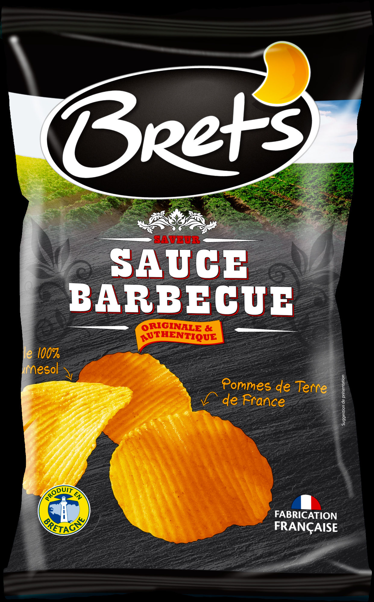 Chips saveur barbecue - Product - fr