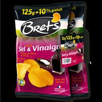 Chips saveur sel & vinaigre Les Aromatisées - Produit - fr
