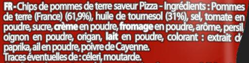Saveur Pizza au feu de bois - Ingredients - fr