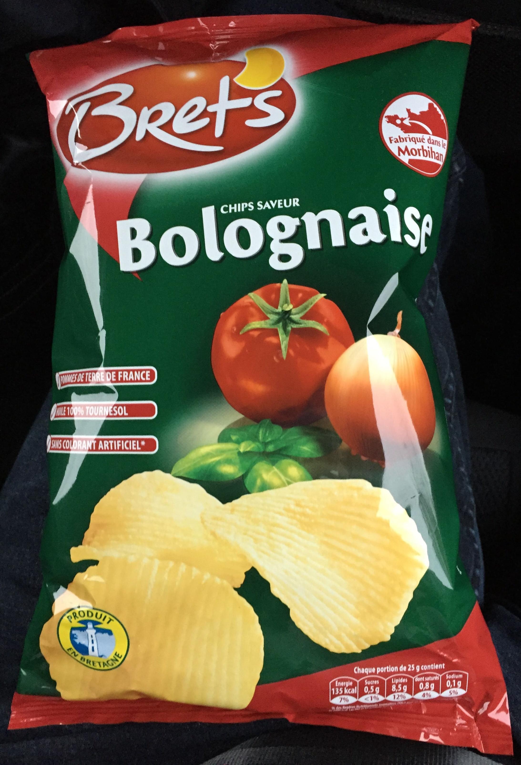 Chips saveur Bolognaise - Product - fr