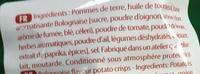 Chips saveur Bolognaise - Ingrediënten - fr