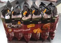 Chips Saveur Poulet Braise 6 Sachets - Produit - fr