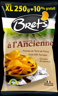 Chips de pommes de terre recette à l'ancienne - Produit - fr