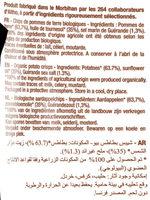 La Chips Bio au sel de guérande - Ingrédients - fr