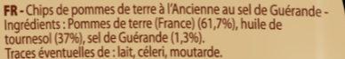 Les natures à l'Ancienne - Ingrédients - fr