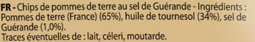 Les natures craquantes (format XL) - Ingrédients - fr