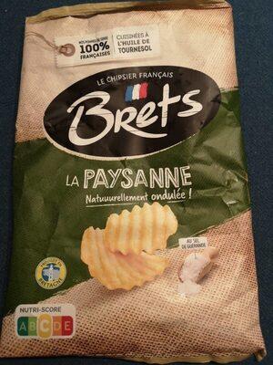 Chips natures paysannes Bret's Au sel de Guérande - Produit - fr