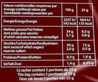 Saveur Poulet Braisé (2+1 gratuit) - Informations nutritionnelles - fr