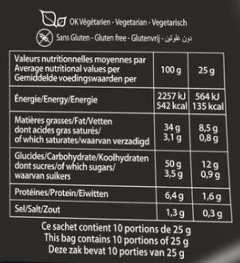 Saveur Sauce Barbecue (format XL) - Informations nutritionnelles - fr