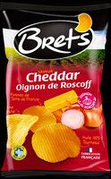 Chips Bret's Saveur Cheddar Oignon de Roscoff - 製品 - ja