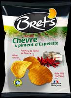 Chips Bret's saveur Chèvre & Piment d'Espelette - Produit - fr