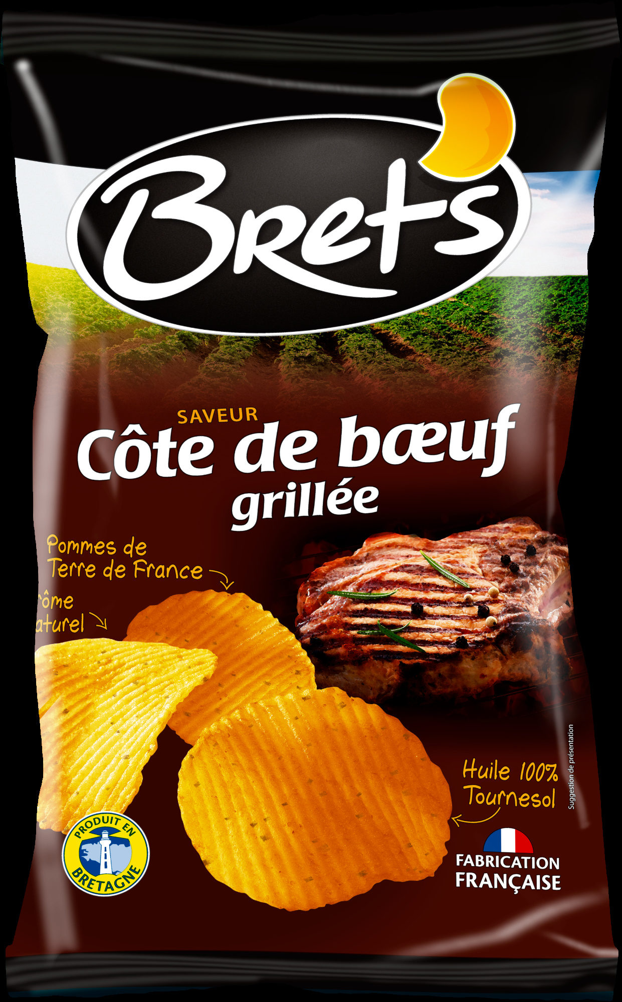 Chips saveur côte de boeuf grillée - Produit - fr