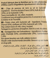 Chips Bret's classiques - Ingrédients - fr