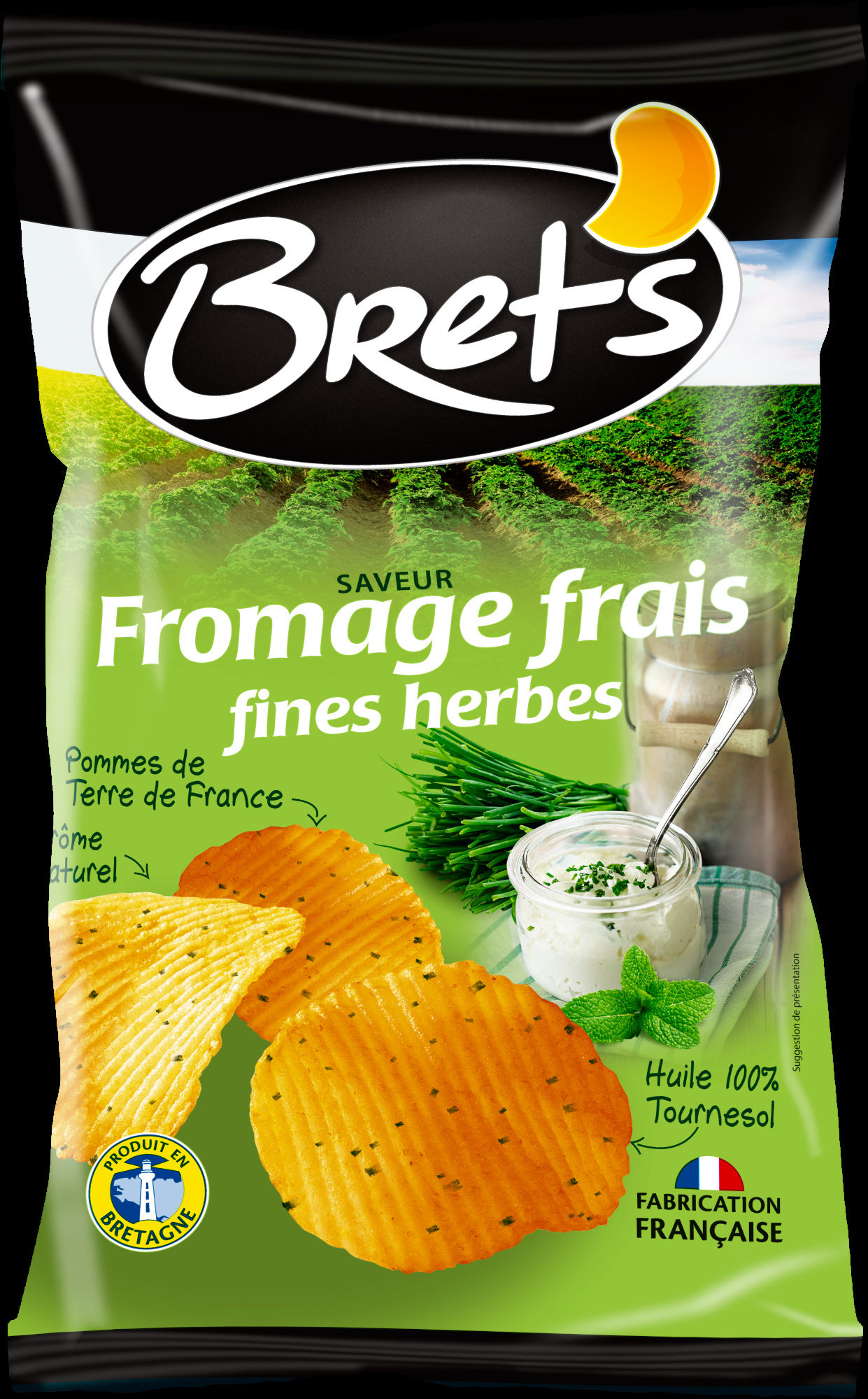 Fromage frais fines herbes - Product