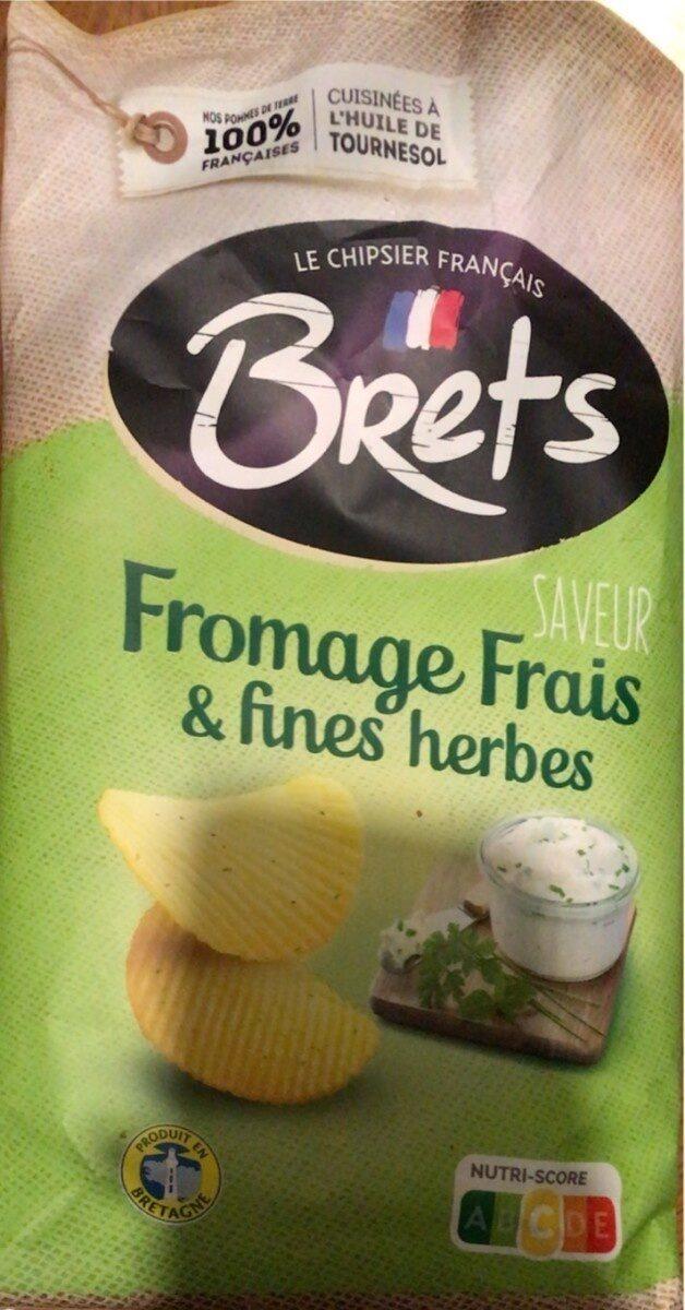 Chips saveur Fromage frais fines herbes - Produit - fr