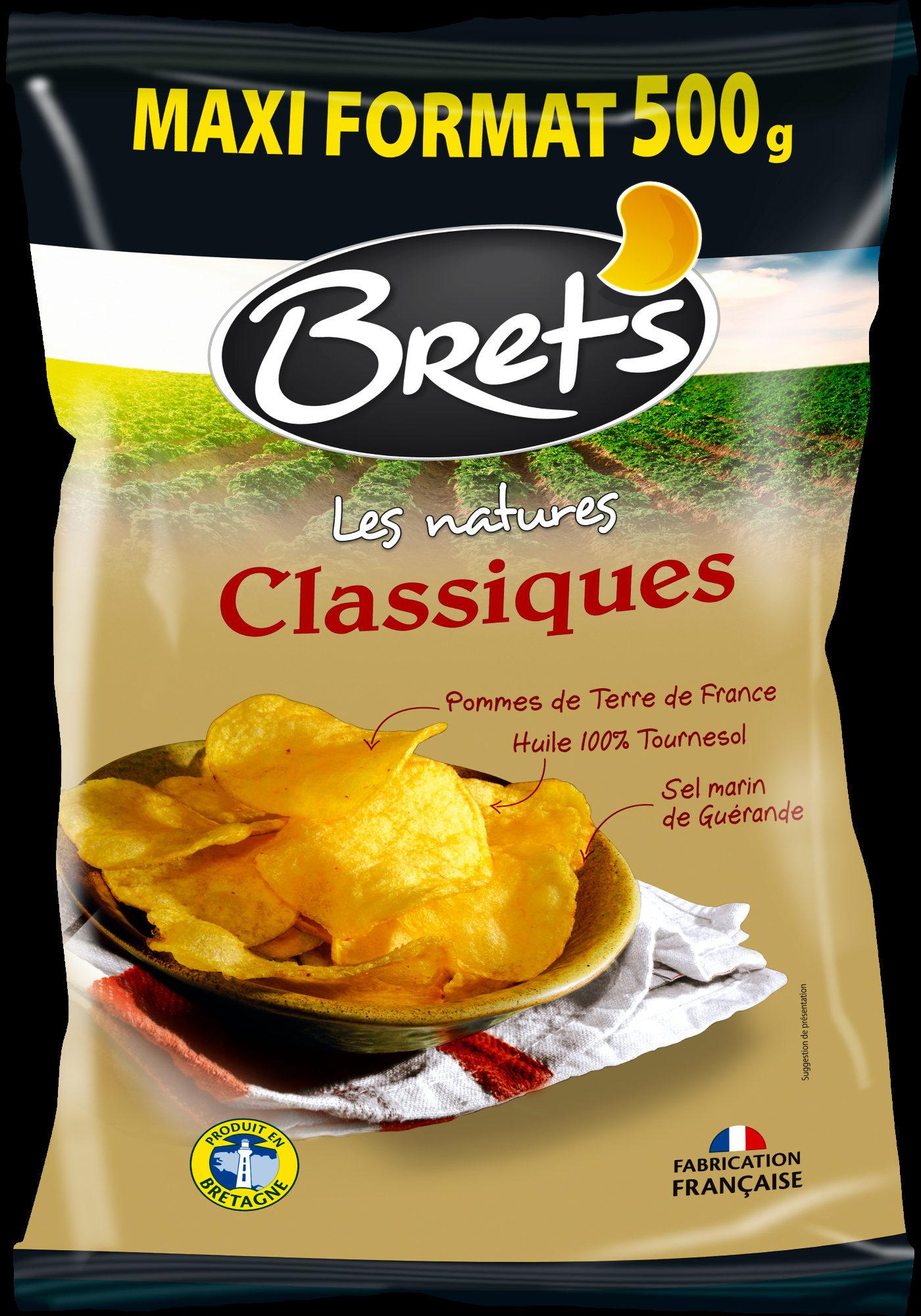 Chips de pommes de terre Classique - Produit - fr