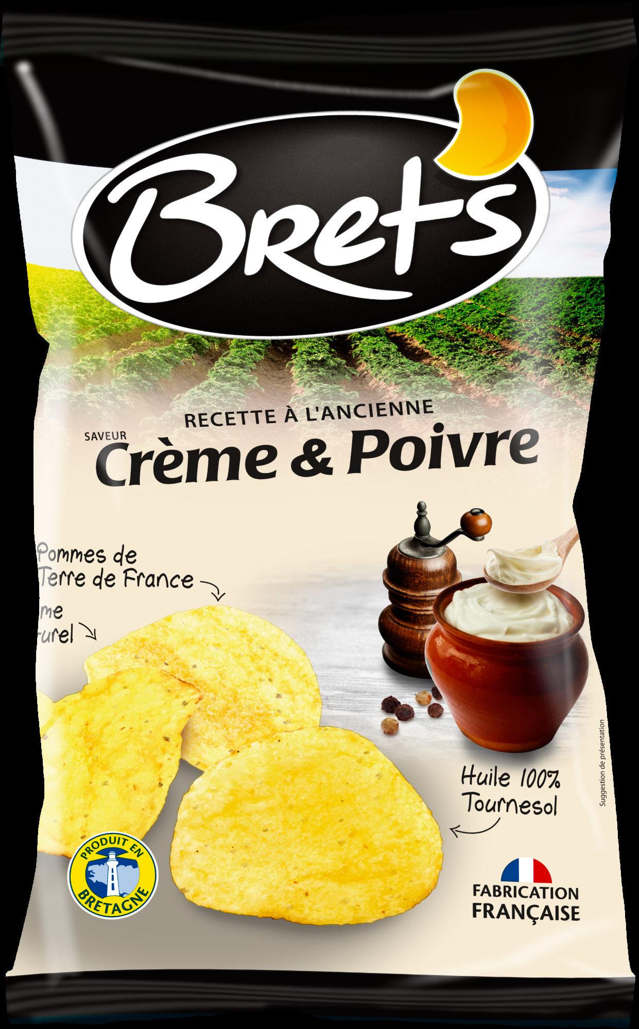 Recette à l'ancienne saveur Crème & Poivre - Produit - fr