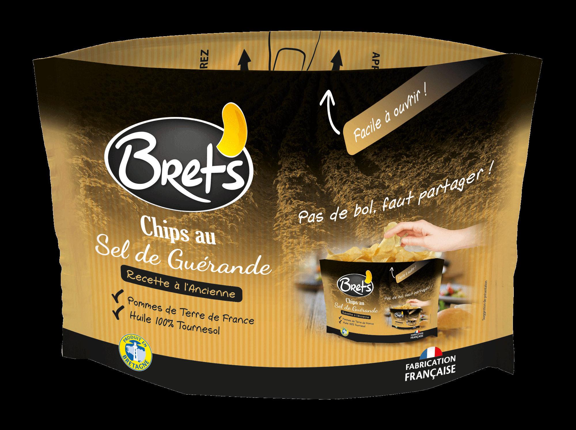 Chips au sel de Guérande - Recette à l'ancienne - Product