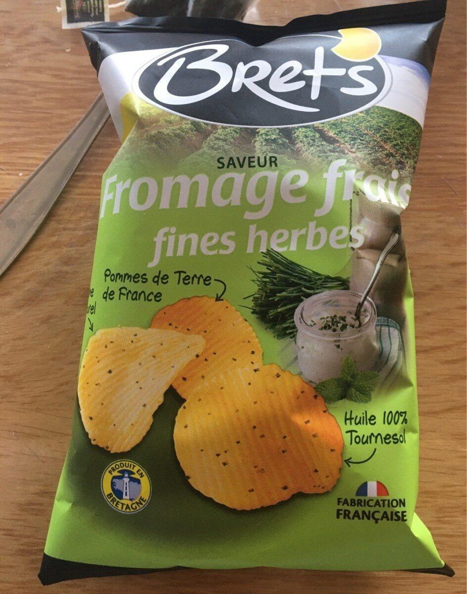Brets fromage frais fines herbes - Produit - fr