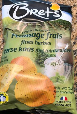 Chips saveur fromage frais aux fines herbes - Product