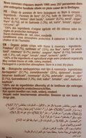 La Chips Bio 100% Thym Romarin - Ingredienti - fr