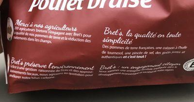 Chips poulet braisé - Ingrédients - fr