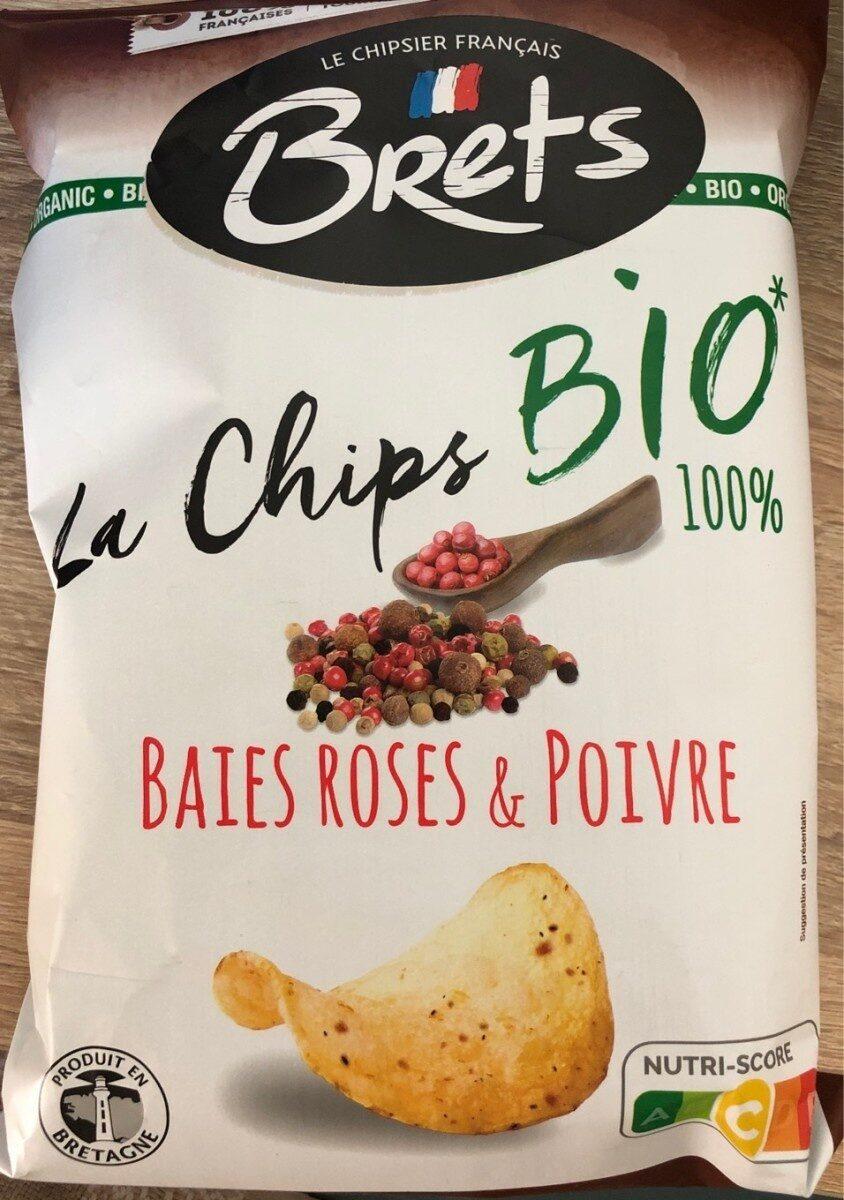 La Chips Bio 100% Baies Roses & Poivre - Product - fr