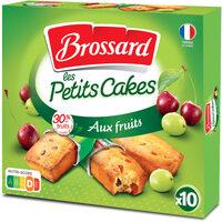 Brossard - 10 mini cakes aux fruits - Product - fr