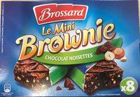 Le Mini Brownie Chocolat Noisettes x8 - Produit - fr