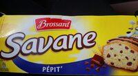 Savane pocket pepite 210g -brossard - Informations nutritionnelles - fr