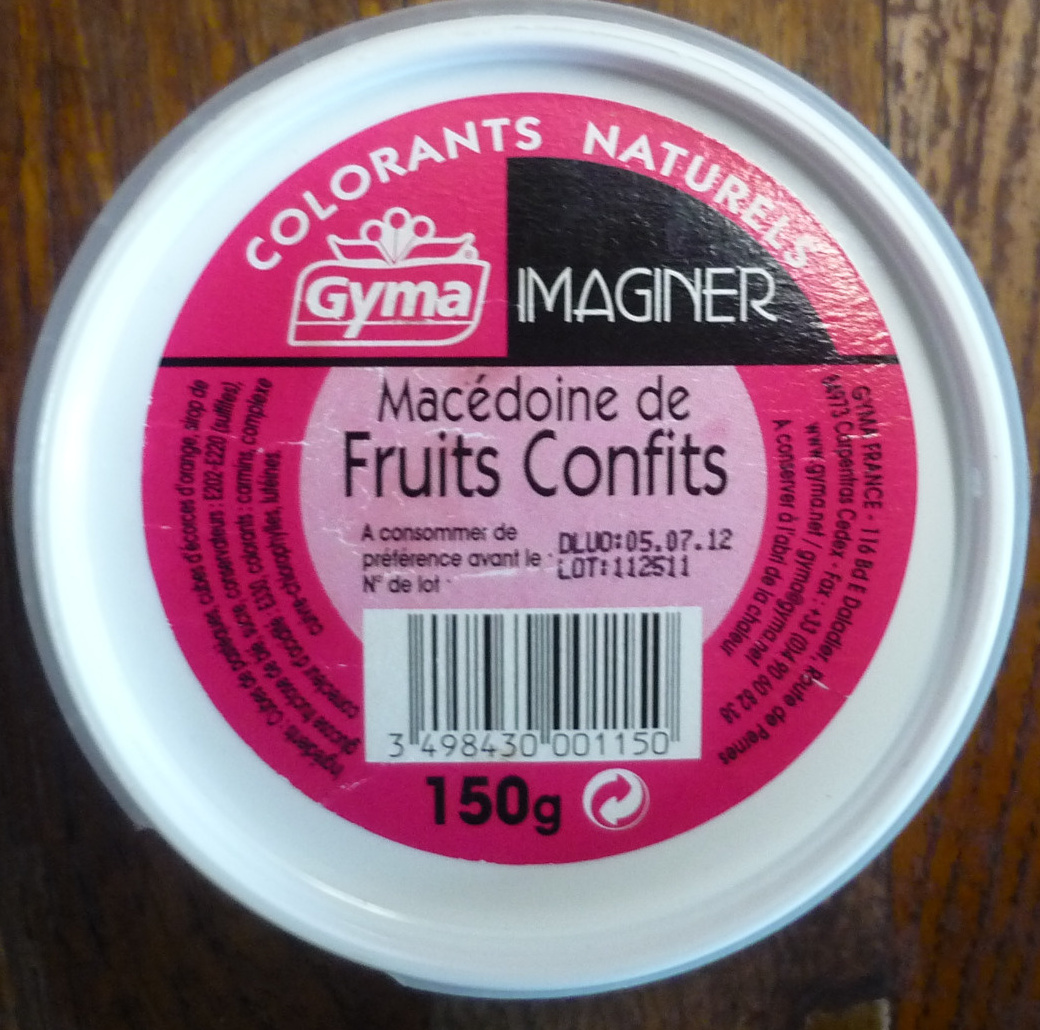 Macédoine de fruits confits - Product - fr