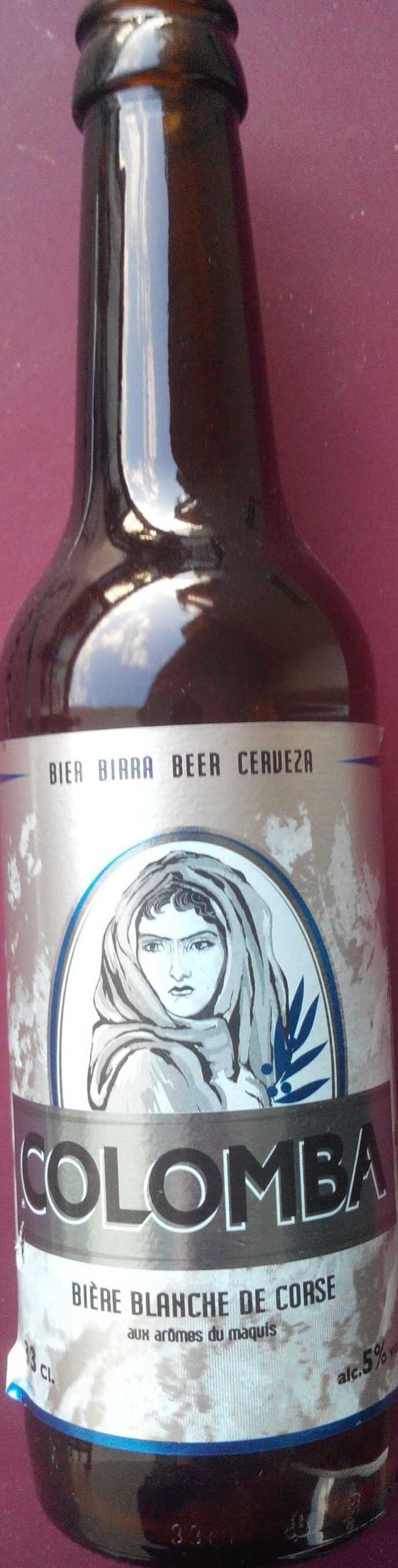 Bière blanche de Corse - Producto - fr