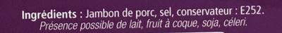 Jambon de Savoie - Ingrediënten