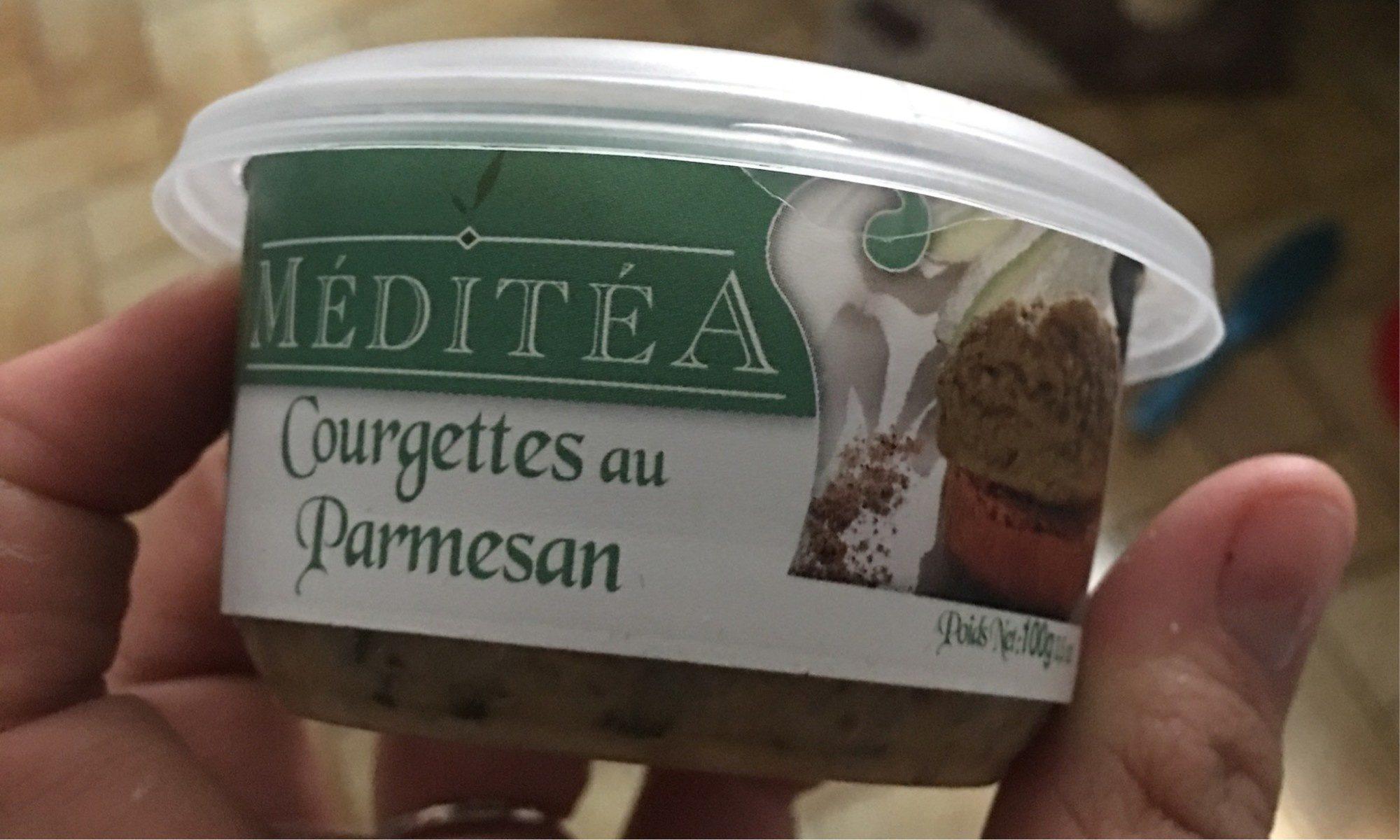 Courgette au parmesan - Product - fr