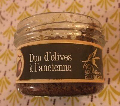 Duo d'olives à l'ancienne - Produit - fr