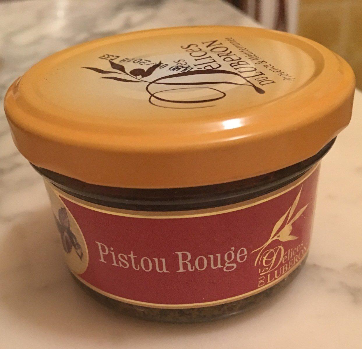 Pistou rouge - Produit