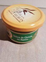 Paste Aus Ziegenkäse Und Basilikum - Les Délices Du Lubéron - Produit - fr