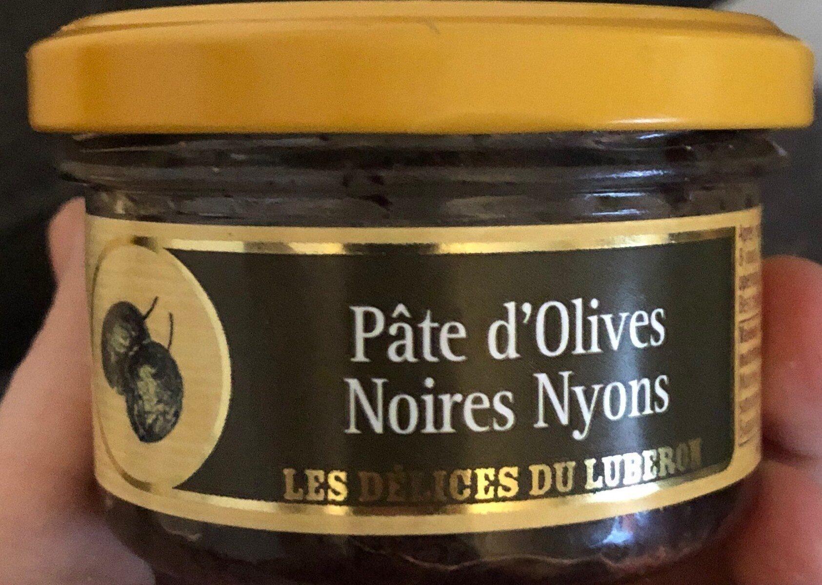 Pâte d'olives noires nyons - Produit - fr