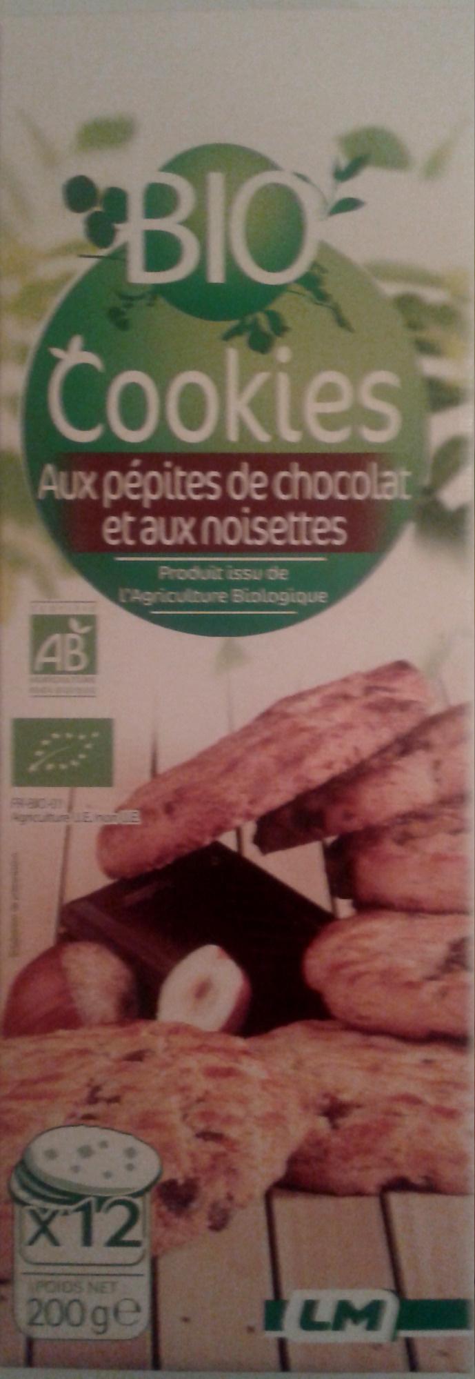 Cookies aux pépites de chocolat et aux noisettes - Product - fr