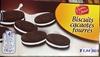 Biscuits cacaotés fourrés - Producto