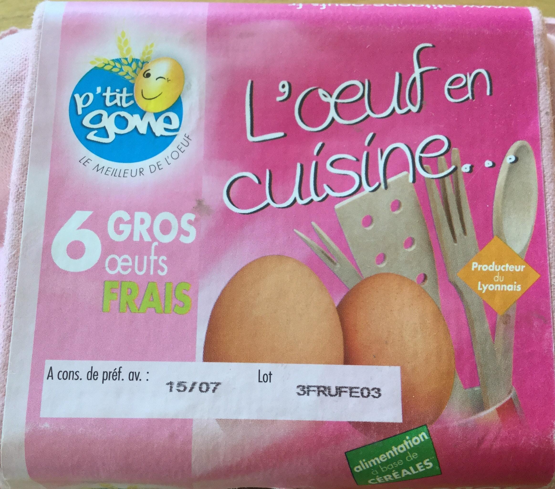 L'oeuf en cuisine - Produit - fr