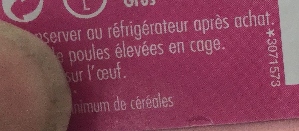 L'oeuf en cuisine - Ingrédients - fr